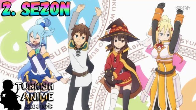 konosuba 2. sezon türkçe anime izle, turkish anime