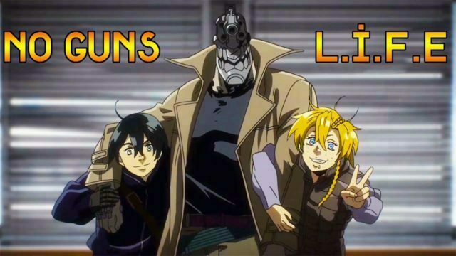 No Guns Life 1. Bölüm izle, turkish anime