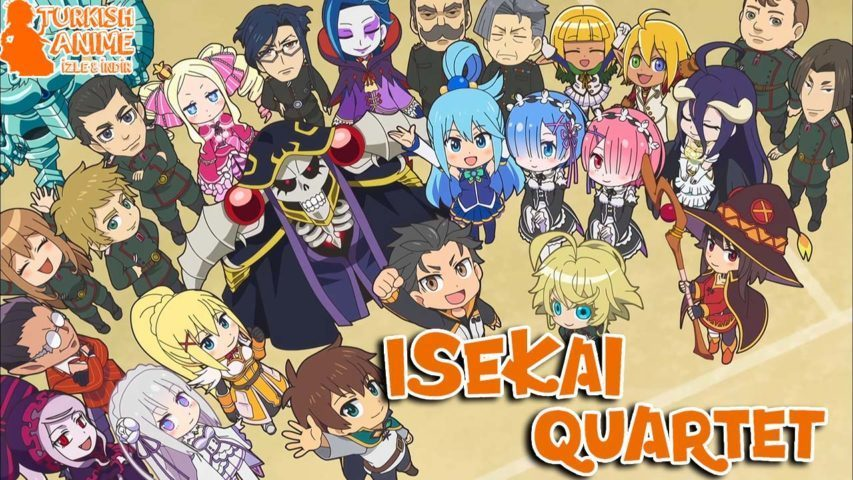 isekai quartet wallpaper photo turkce anime izle, turkish anime