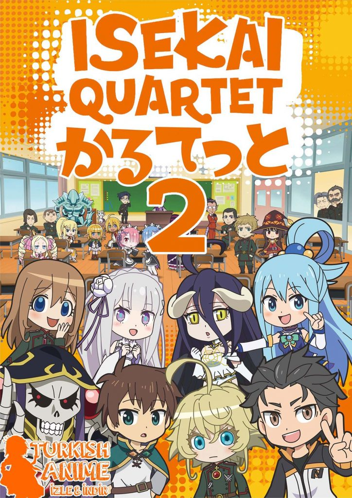 isekai quartet 2. sezon izle turkish anime