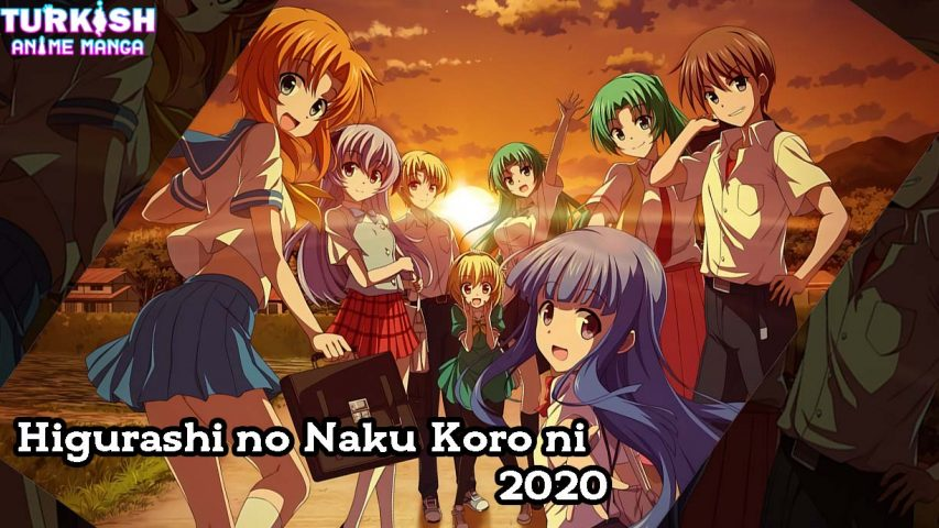 Higurashi no Naku Koro ni 2020 izle - turkish anime